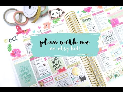Plan with Me New MAMBI Sticker Books from Michaels No Etsy Kit