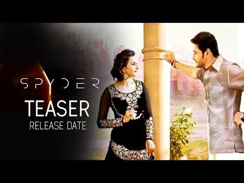 Glimpse Of SPYDER Movie Teaser Release Date | Mahesh Babu | A R Murugadoss | Rakul Preet Singh