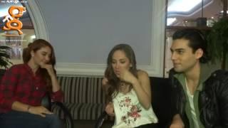 La Entrevista A - Daniela Luján, Naidelyn Navarrete & Lalo Brito - Carrie El Musical (19-Oct-2016)