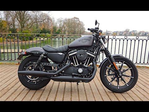 2016 Harley Davidson Sportster Iron 883 Noir désir Essai vidéo