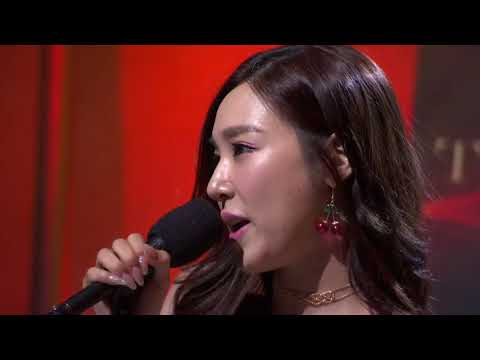 """Tiffany Young performs her new single, """"Over My Skin"""""""