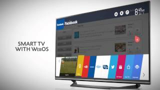 LG UF770 Series 4K Ultra HD Smart LED TV with Magic Remote