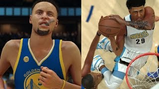 NBA 2K17 MyCAREER - EXPOSING CURRY!! Shawn POSTERIZES Kevin Durant! Career High Performance!!