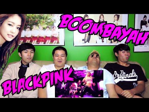 BLACKPINK - BOOMBAYAH MV REACTION (FUNNY FANBOYS)