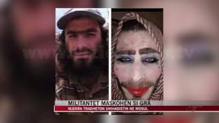 Militantët e ISIS maskohen si gra - News, Lajme - Vizion Plus