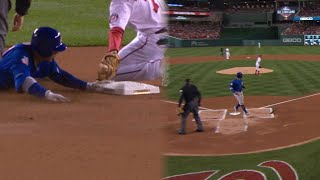 CHC@WSH Gm5: Jay doubles, advances and scores in 1st