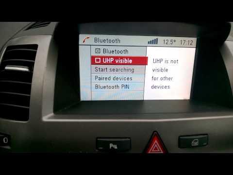 Opel DVD90 Navi bluetooh issue