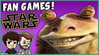 JAR JAR'S JAR JAR JAR!   RANDOM Star Wars Fan Games #1