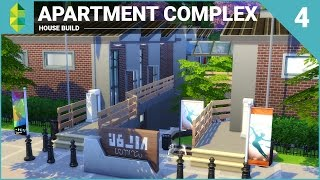 The Sims 4 House Building - Apartment Complex (Part 4)