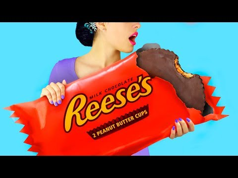 9 DIY Giant Candy vs Miniature Candy Funny Pranks