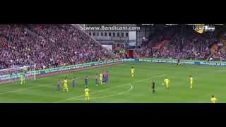 Crystal Palace vs Chelsea 0-1 Oscar Amazing Free Kick 18/10/2014