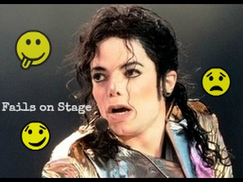 Michael Jackson #1 Stage Fails   Funny - Angry - Bloopers - Awkward [Rare Footage Collection]