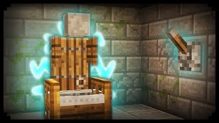 ✔ Minecraft: How to make a Working Electric Chair