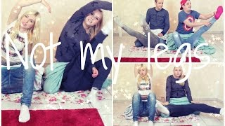 NOT MY LEGS - CHALLENGE mit Timo, Bibi & Julian  | Dagi Bee