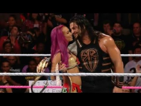 Xxx Mp4 WWE Raw 07 June 2017 Roman Reigns And Sasha Banks KISSES This Is Imposible See What S Happen 3gp Sex