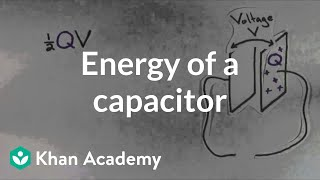 Energy of a capacitor   Circuits   Physics   Khan Academy
