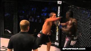 Mynhardt Knockout of the Night Highlight EFC AFRICA 09