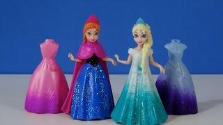 Disney Frozen Anna y Elsa MagiClip vestidos Mini Muñecas - Juguetes de Frozen