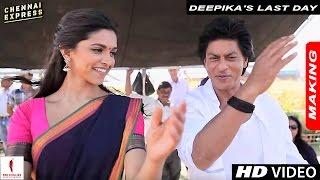 Deepika's Last Day : Sets of Chennai Express with Shah Rukh Khan & Rohit Shetty
