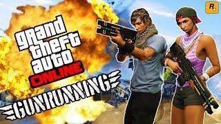 GTA 5 GUNRUNNING DLC MISSION & SPENDING SPREE!! - NEW GTA 5 GUN RUNNING DLC UPDATE GAMEPLAY