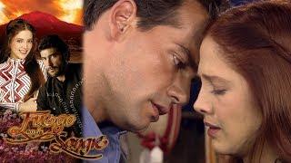 Demián quiere conquistar el corazón de Sofía | Fuego en la sangre - Televisa