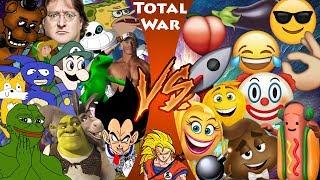 MEMES vs EMOJIS! (MLG and YouTube Poop vs The Emoji Movie) CFC Bonus Ep 30! REACTION!!!