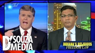 Hannity: D'Souza On Indiana's Religious Freedom Law