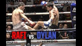 Muay Thai - Rafi vs Dylan (ราฟฟี่ vs ดีแลน), Lumpinee Stadium, Bangkok, 27.2.18.