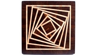 Making a 3D end grain cutting board #5