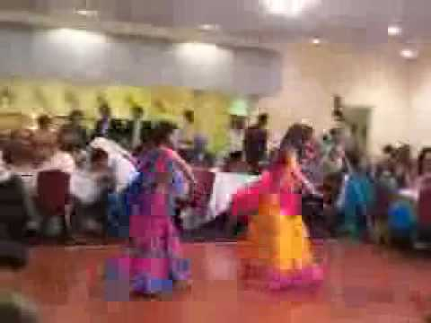 Avni and Sonu Dance at Indian Engagement
