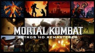 Mortal Kombat Intros HD Remastered