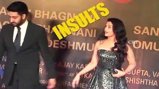 Abhishek Bachchan Insults Aishwarya Rai IN Public   Sarbjit premiere   Red Carpet - Chai Biscuit