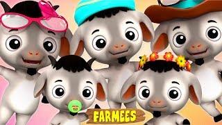 Goat Finger Family | Nursery Rhymes For Kids | Videos For Children