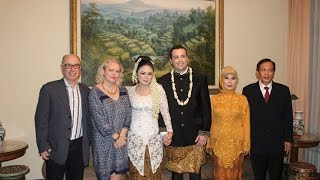 Bertrand and Dinny married Jakarta 24 Jan 2014