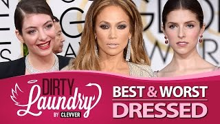 Best & Worst Dressed Golden Globes 2015 - Dirty Laundry