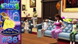 The Sims 4 - A BELA E A FERA #36 - FESTA DO PIJAMA