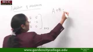 Matrices and Determinants by Dr. Nandhini S - Part 1