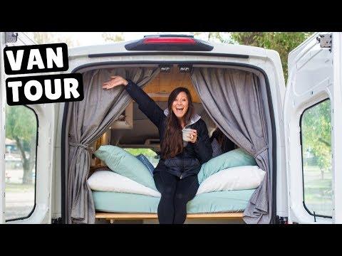 VAN LIFE TOUR Driving Converted Ford Transit Van Across Canada