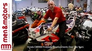Honda CBR900 Fireblade: Improvements Over The Years
