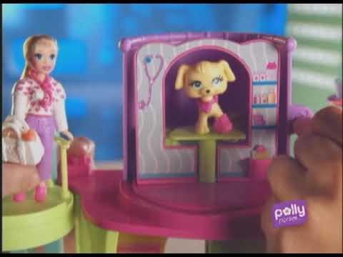 Polly Pocket Resgate SOS Bichinhos