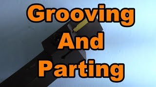Grooving and parting tools made easy and affordable with cheap carbide inserts from Banggood