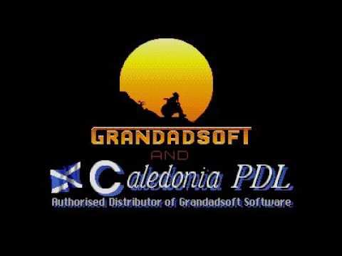 grandad 2 - in search of sandwiches title screen for Atari ST