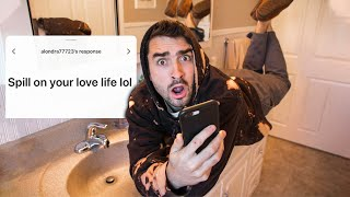 Answering YOUR Questions In My Bathroom 😂😂