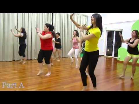 Line Dance: Desi Girl Demo 2