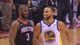 Chris Paul Mocks Stephen Curry Using His Own Shimmy Dance After Hitting Unbelievable 3 Point Shot!