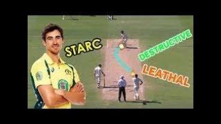 Mitchell Starc 2017 Wicket Compilation HD