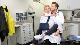 'Strange Doctor' Starring Ellen and Justin Timberlake