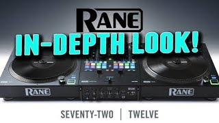 THOROUGH! Rane 72 and Twelve Mixer and Turntable Controller Walkthrough