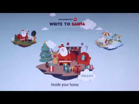 Write to Santa care of NZ Post