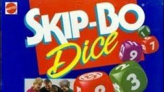 Ep 94: Skip Bo Dice Game Review (Mattel 1995)